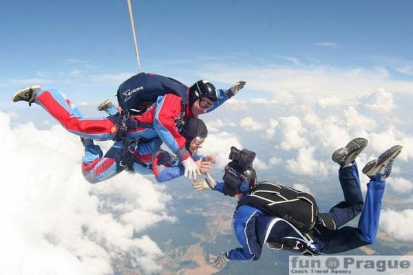 9. Sky-diving