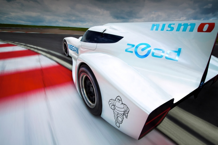 Nissan ZEOD RC3 ZEOD   Nissan Unveils The Fastest Electric Car In The World