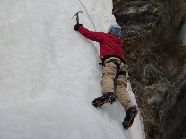 2. Rocky Mountain Waterfall Ice Climbs