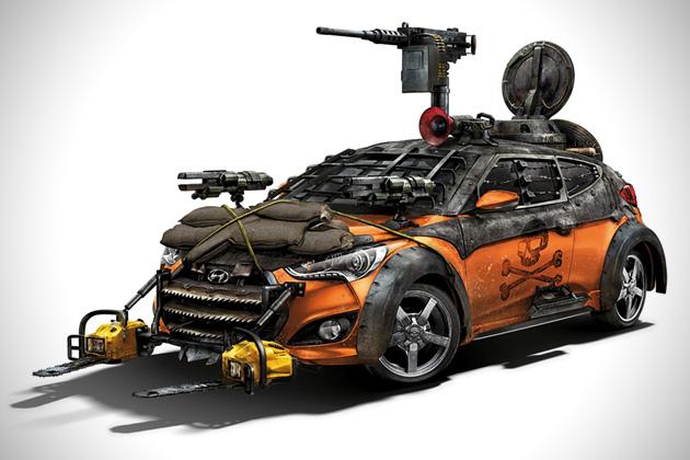 2013-Hyundai-Veloster-Zombie-Survival-Machine-1