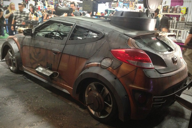 2013 Hyundai Veloster Zombie Survival Machine 4 Hyundai Veloster Machine Will Help You Survive Zombie Apocalypse