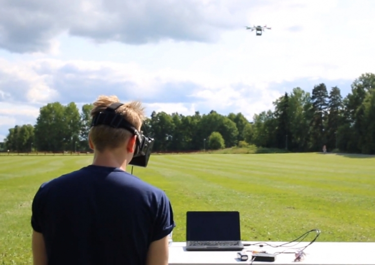 Oculus Drone Oculus Rift drone hack merges virtual reality with real world gaming experience