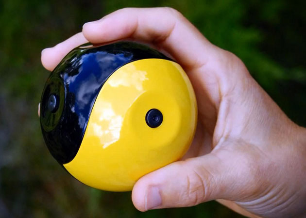 Squito Throwable Panoramic Camera Squito    the covert camera you can throw around