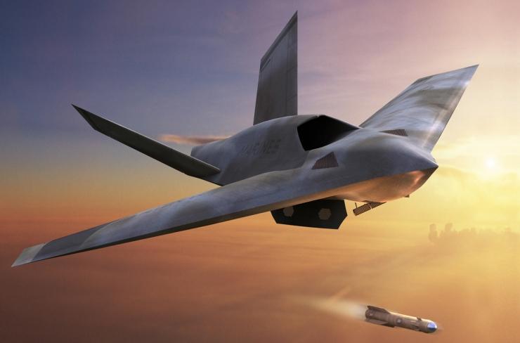 In Future Pilots Will Have Autonomous Drone Wing-men