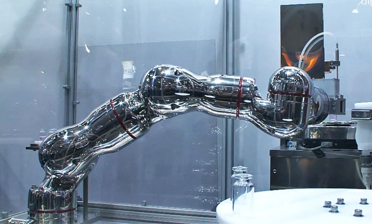 The Real Life Terminator Arm By Kawasaki