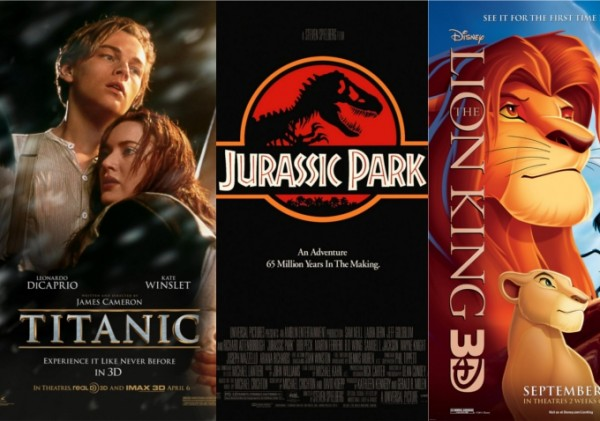 3. Old Flat Movies Are Getting 3-D Re-Releases