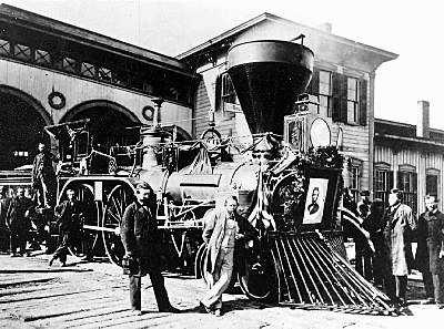 4. Abraham Lincoln's Phantom Train