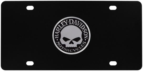 4. Skull License Plates