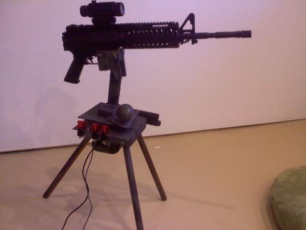 5. Paintball Turret Gun