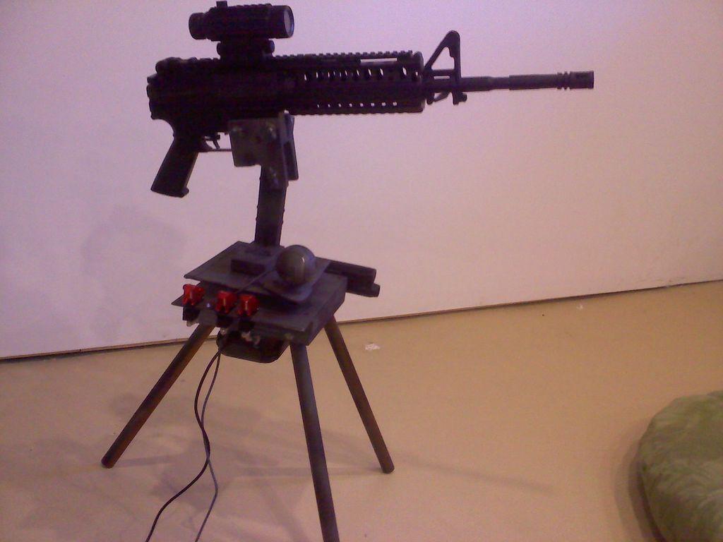 paintball machine gun turret - photo #1