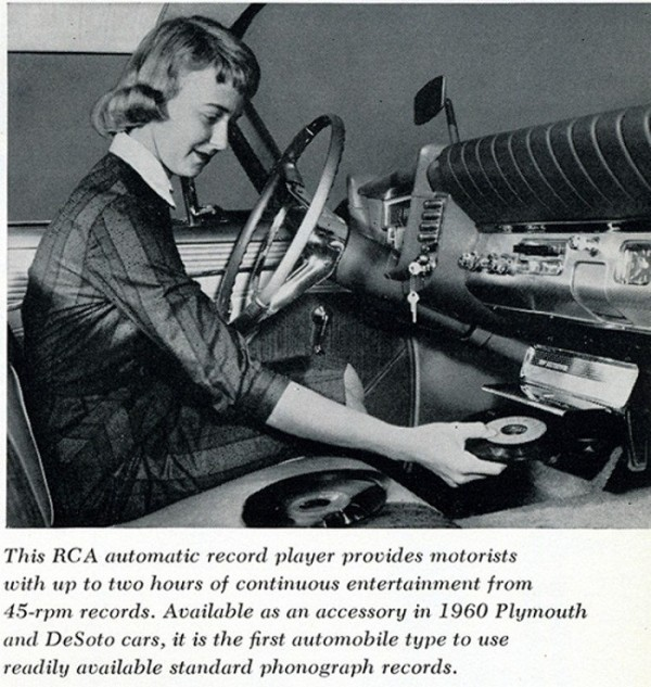 7. Onboard Record Players
