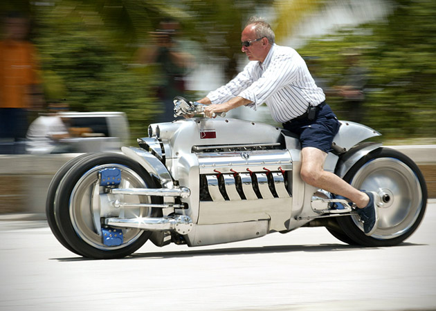 Dodge Tomahawk 2 The worlds fastest bike is definitely not for amateurs