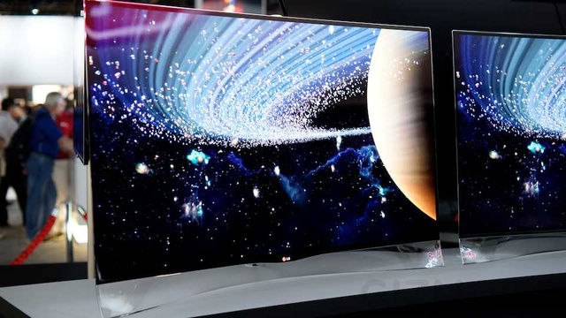 ku xlarge Curvy $15,000 OLED will blow you away