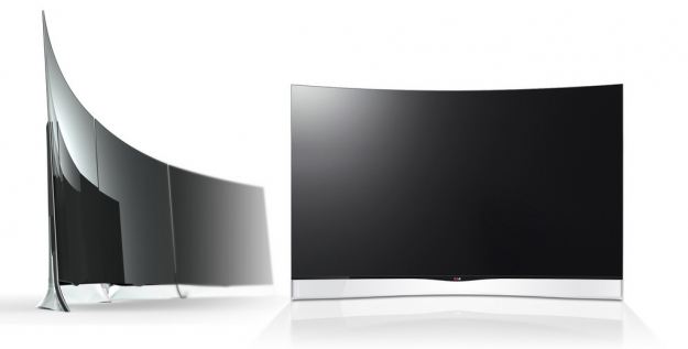 lg curved 3D oled tv 15k Curvy $15,000 OLED will blow you away