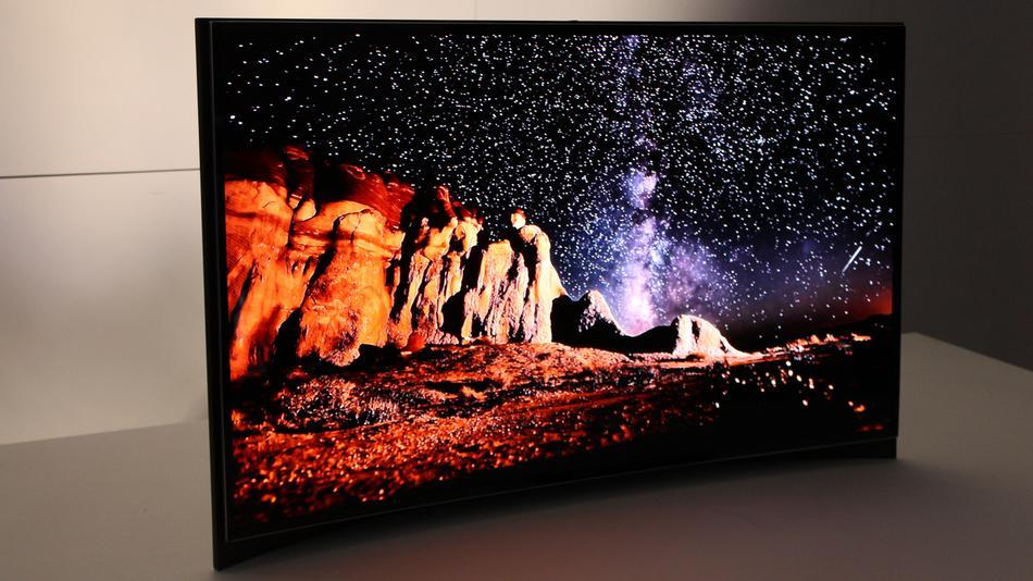 samsung curved oled tv facts Curvy $15,000 OLED will blow you away