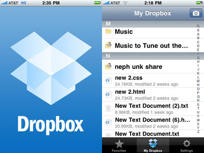 dropbox iphone The 10 Must Have Free iPhone Apps of 2013