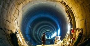 World's Deepest Underwater Railway Tunnel
