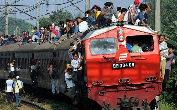 train surfing in indonesia essay