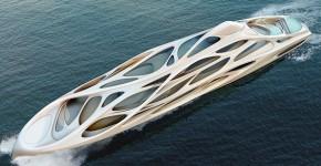 Zaha Hadid's Mind Blowing Yacht