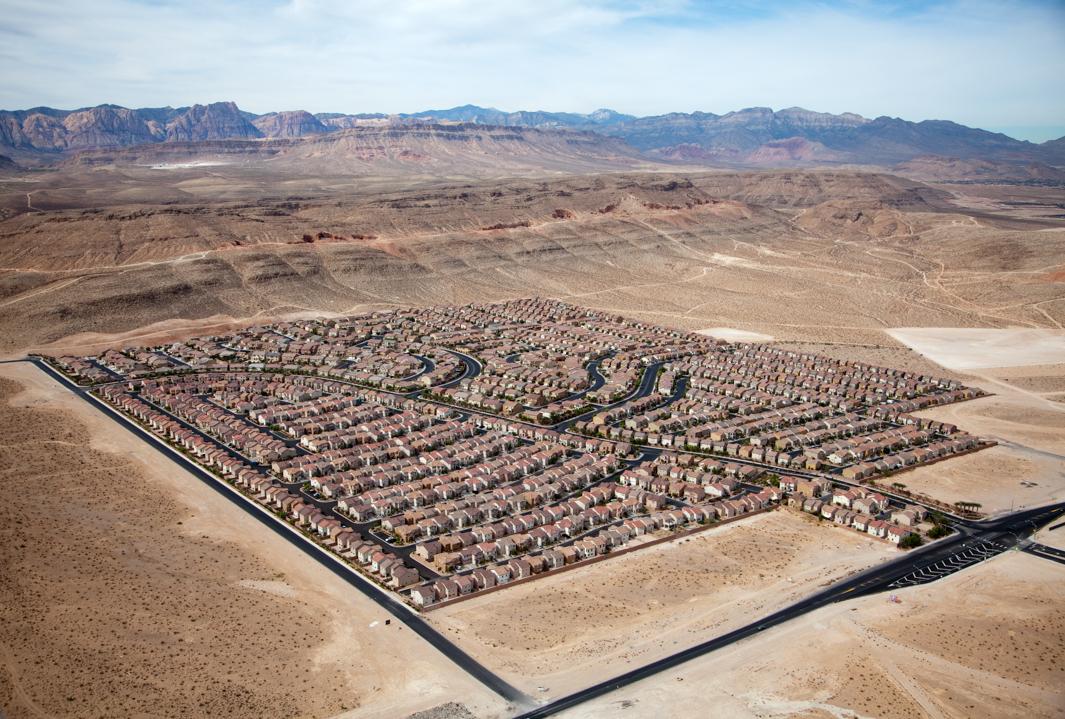 Desert Housing Block, Las Vegas, Nev., 2009.