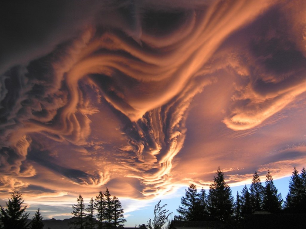 Asperatus Clouds Nature is Incredibly Beautiful; Look at These 20 Mind Blowing Natural Weather Phenomena