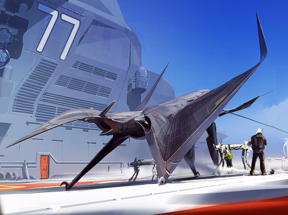 Combat Jet Design (3)