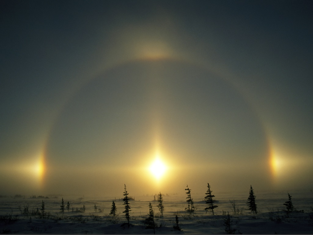 Sun Dog Nature is Incredibly Beautiful; Look at These 20 Mind Blowing Natural Weather Phenomena