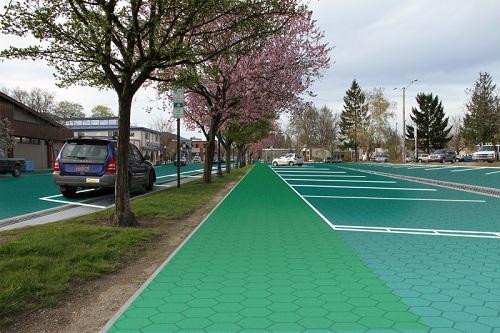 solar panel parking