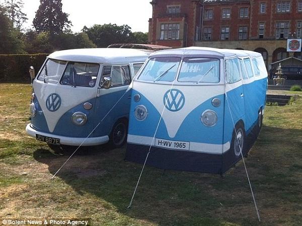 1965 WV Van Tent Replica