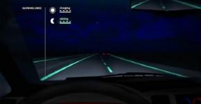Incredible Glow-In-The-Dark Highways In The Netherlands
