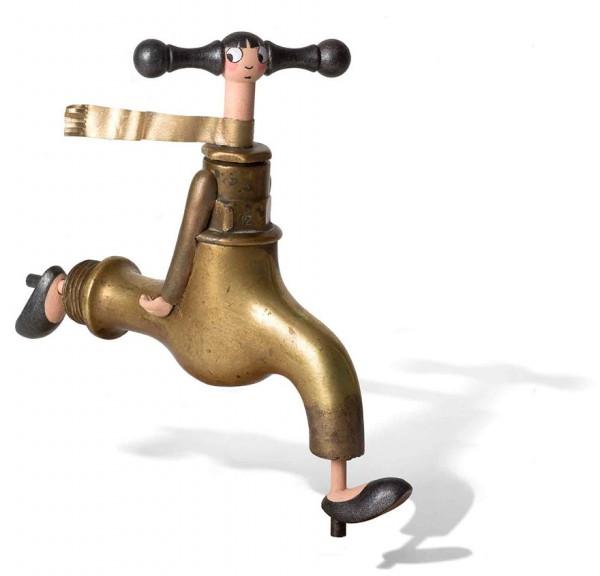 gilbert art water tap