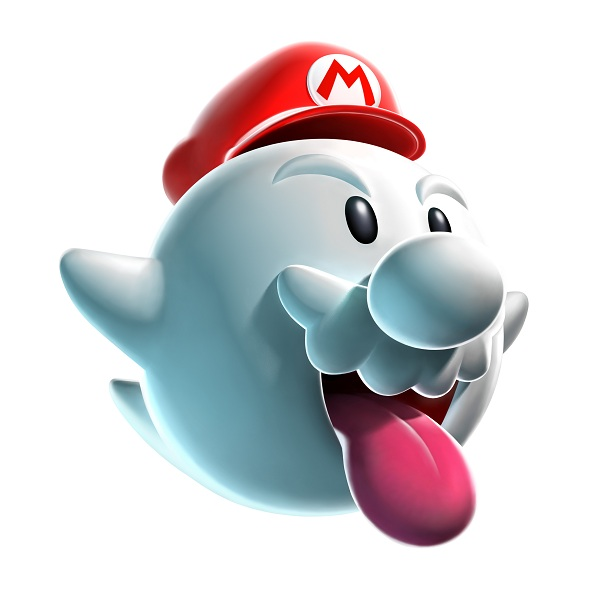 mario power-up boo