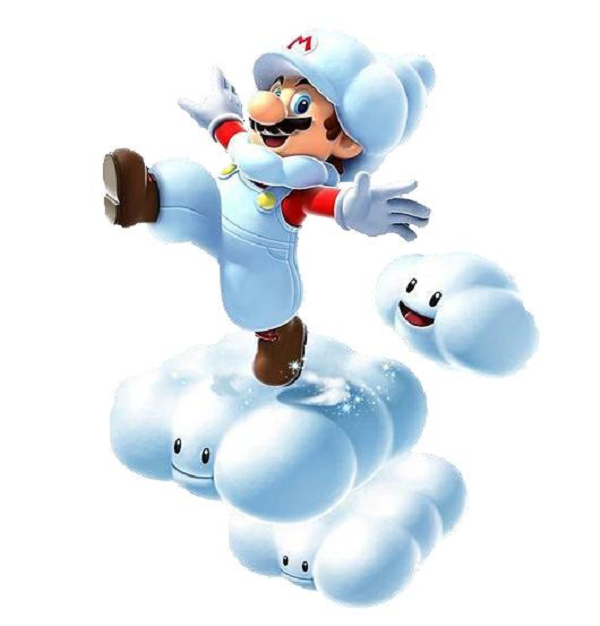 mario power-up cloud suit