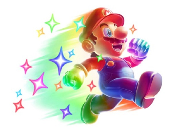 mario power-up rainbow