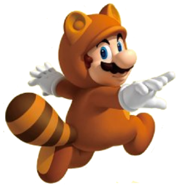 mario power-up tanooki suit