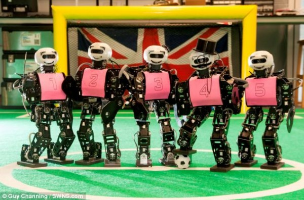 robocup football tournament 2014 UK robot team