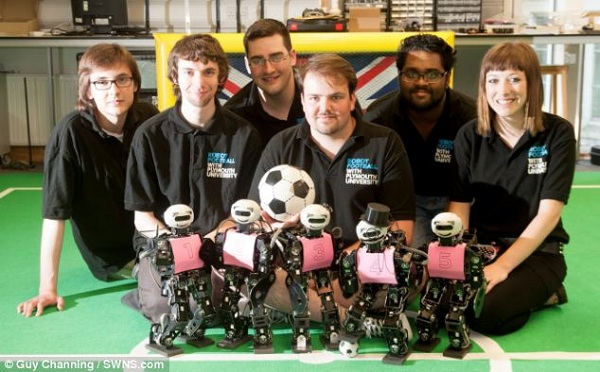 robocup football tournament 2014 UK team
