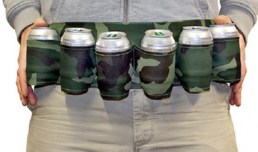 six pack beer belt1