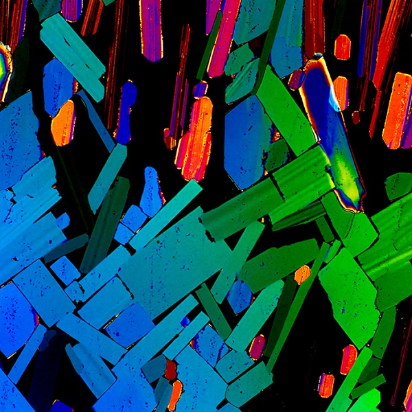 The microscopic image of Tequila.