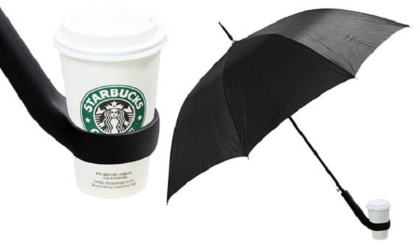 cup holder umbrella 10 Handy Inventions That You Never Knew Were Essential