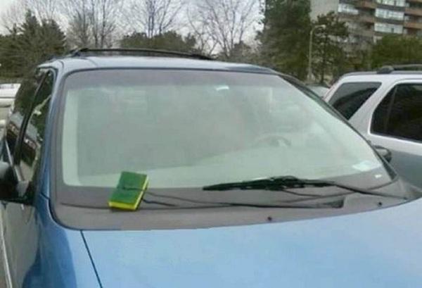 sponge wiper blade