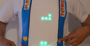 Tinkerer Creates Playable T-Shirt Tetris