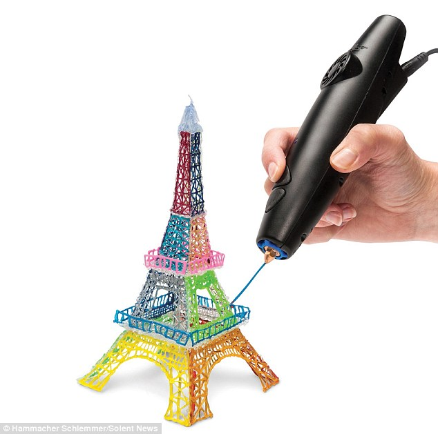 3d Pen Let 39 S You Create Drawings Out Of Thin Air Realitypod