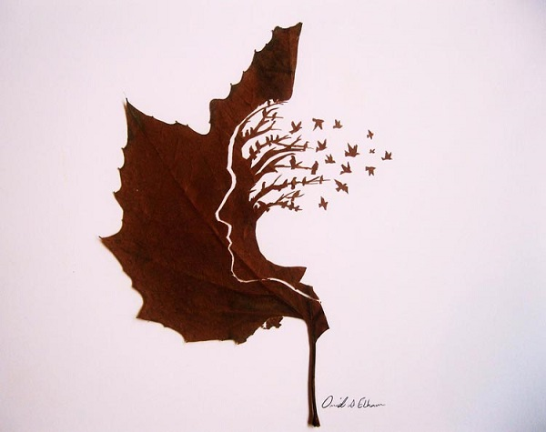 leaves carving mind tree