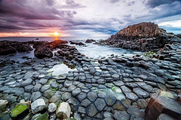 Giants Causeway Beach, Ireland 1