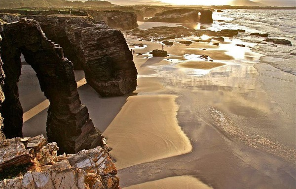 The Beach of the Cathedrals, Ribadeo, Spain 1