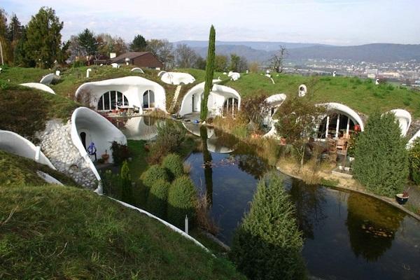 Hidden Swiss estate by Vetsch Architektur 2