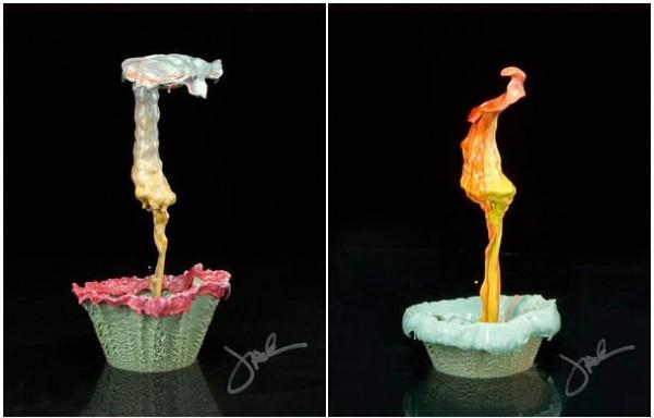 liquid splash flowers 2