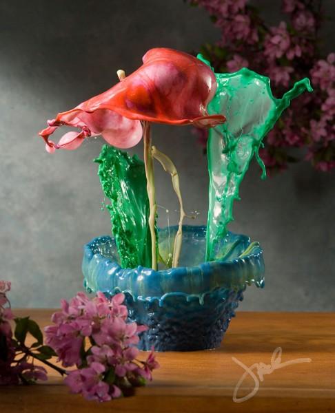 liquid splash flowers 5