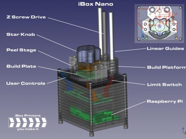 ibox nano 3d printer 2